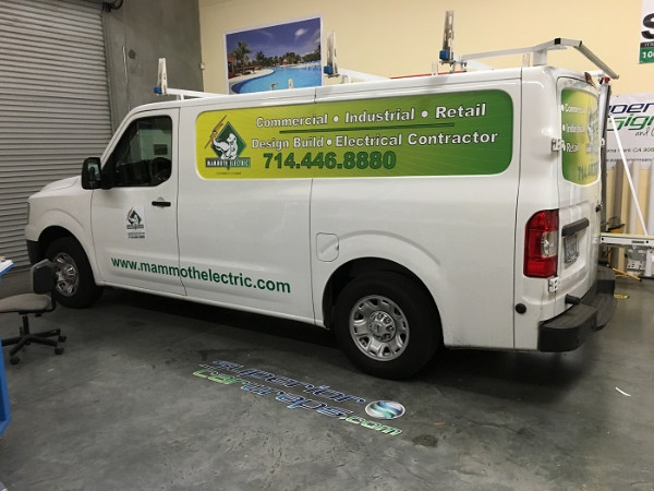 Cost effective fleet graphics Anaheim CA