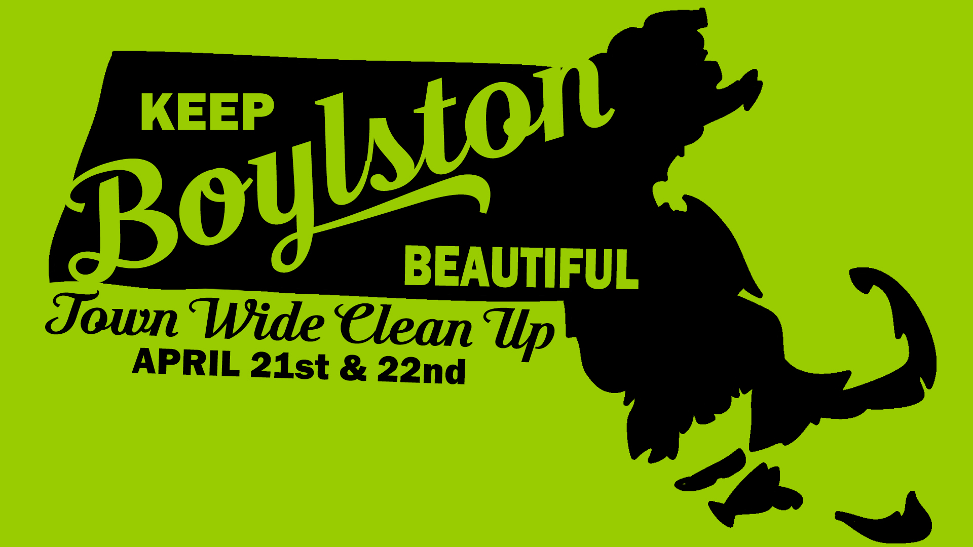 Keep Boylston Beautiful Town Wide Clean Up