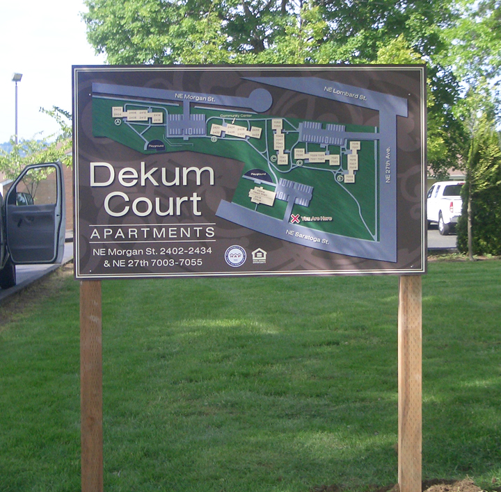 Site Map Signs
