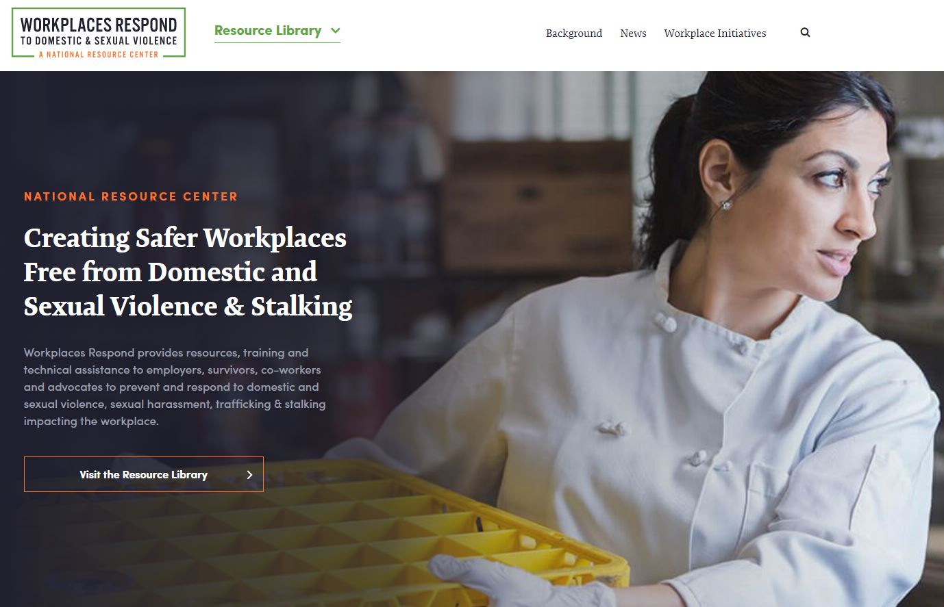 Workplaces Respond to Domestic and Sexual Violence: A National Resource Center
