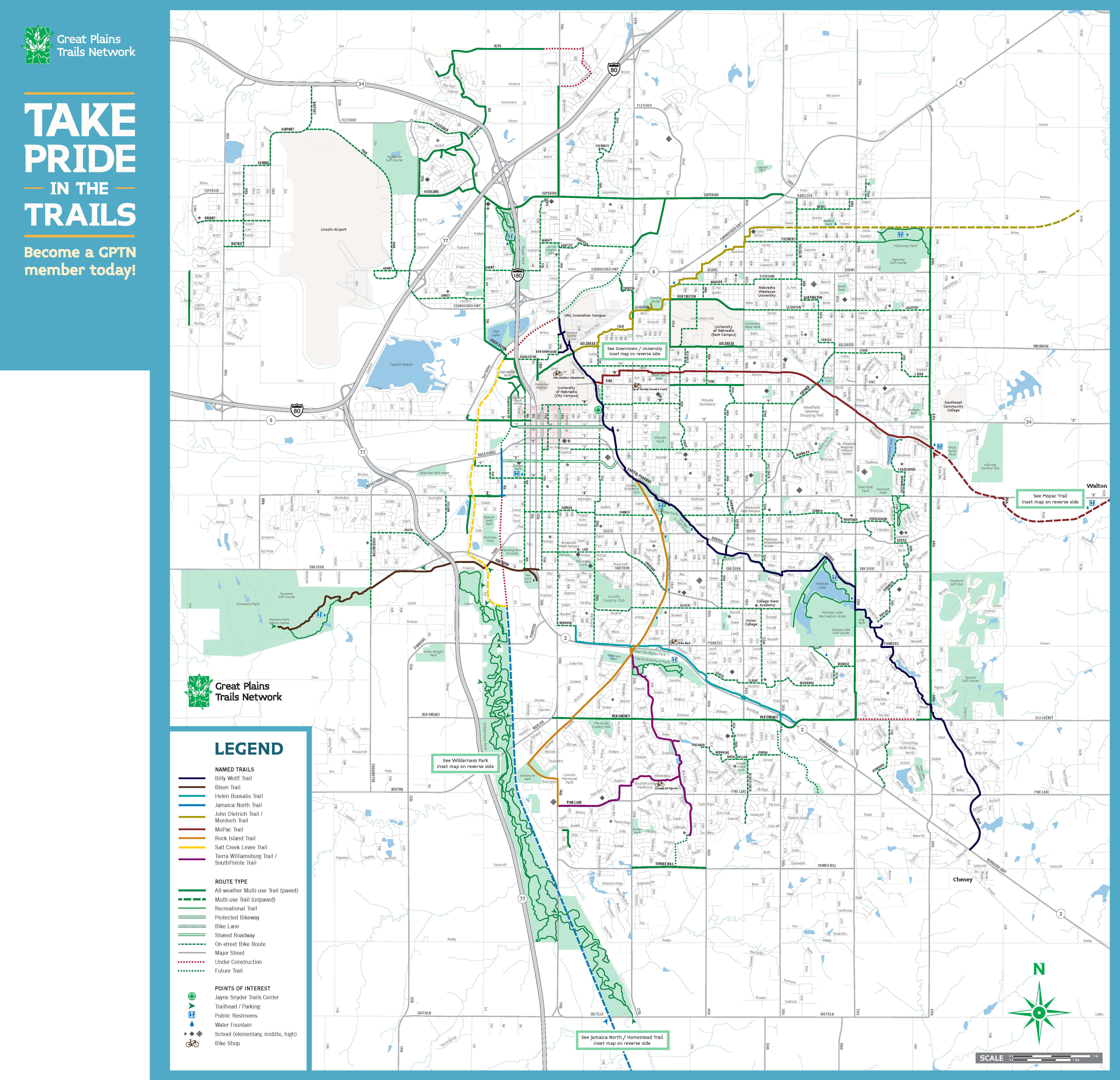 Great Plains Trail Network : Trails : Overview