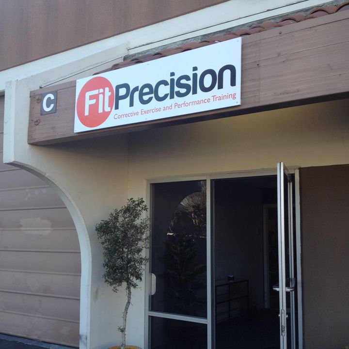 Fit Precision Store Front Sign