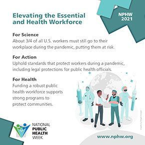 NPHW - Elevating the Essential and Health Workforce