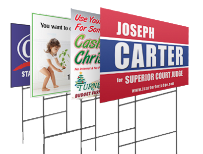 LAWN SIGNS 24 x 36