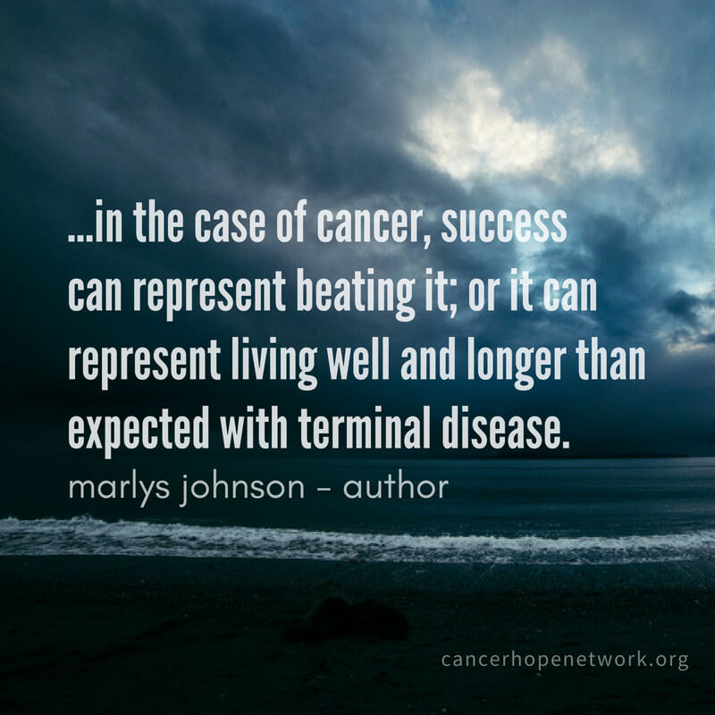 Extreme leadership: How cancer patients can lead and win