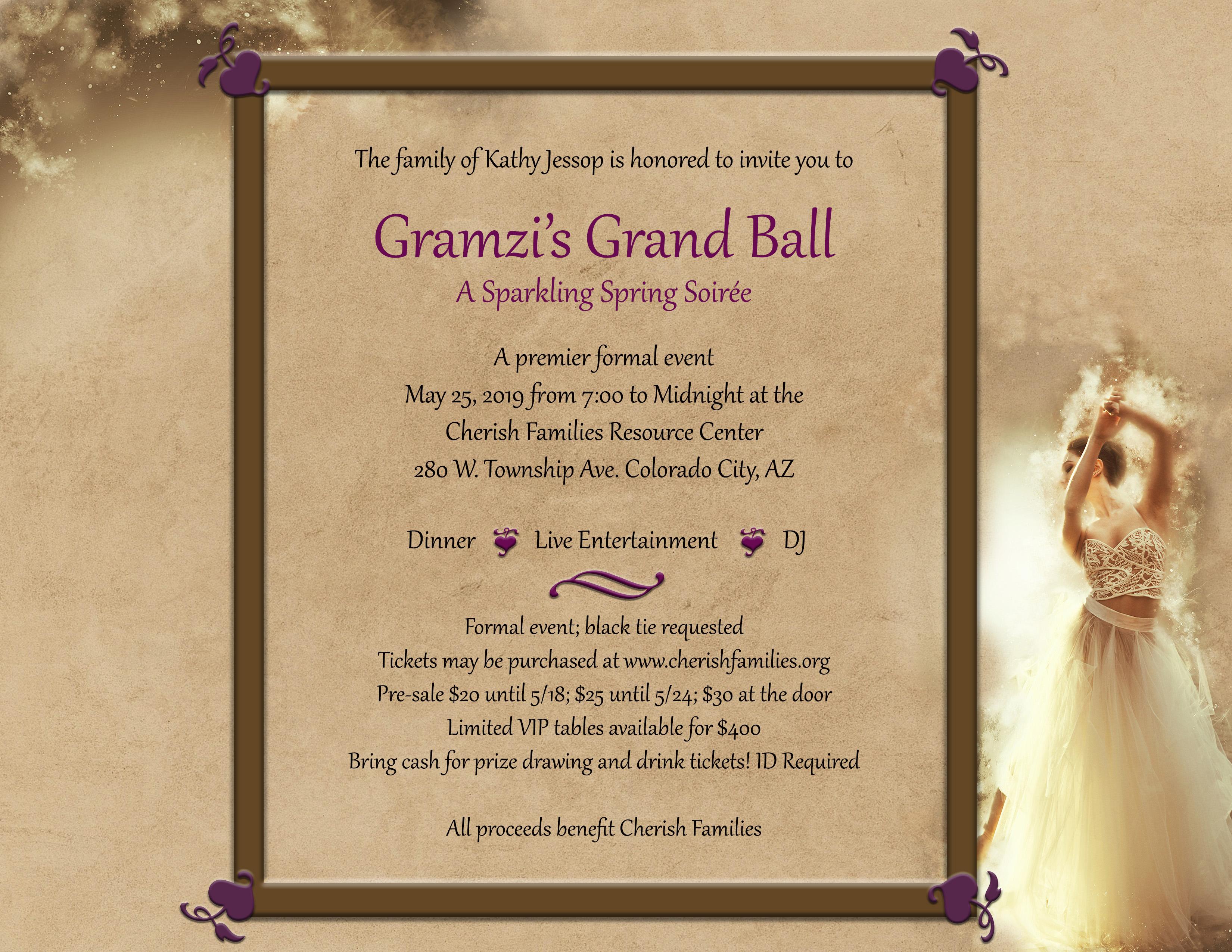 Gramzi's Grand Ball
