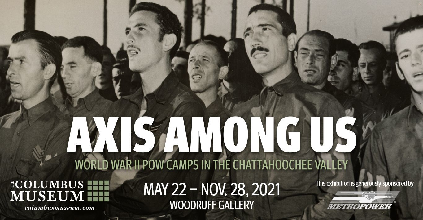 Axis Among Us: World War II POW  Camps in the Chattahoochee Valley