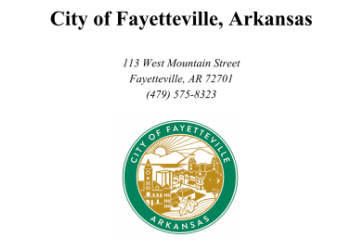 Fayetteville City Council Meeting