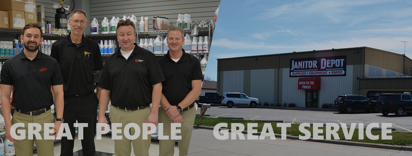 Welcome Janitor Depot Customers