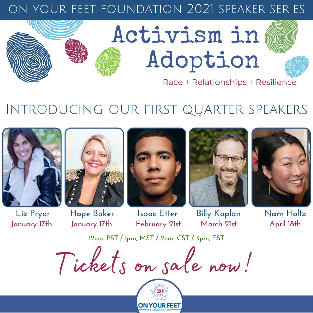 Announcement: 2021 Activism in Adoption Speaker Series