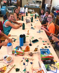 Sr. Mary Ann Therese Kelly Inspires Young Artists at Stained Glass Summer Camp