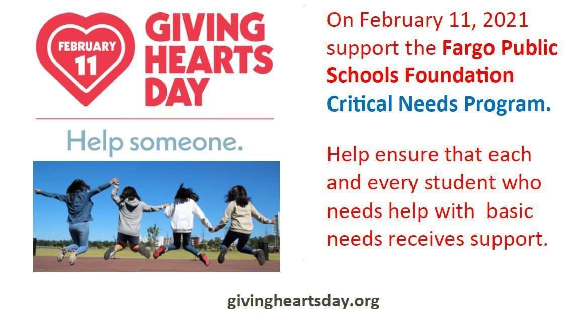 Schedule your Giving Hearts Day Gift Early!