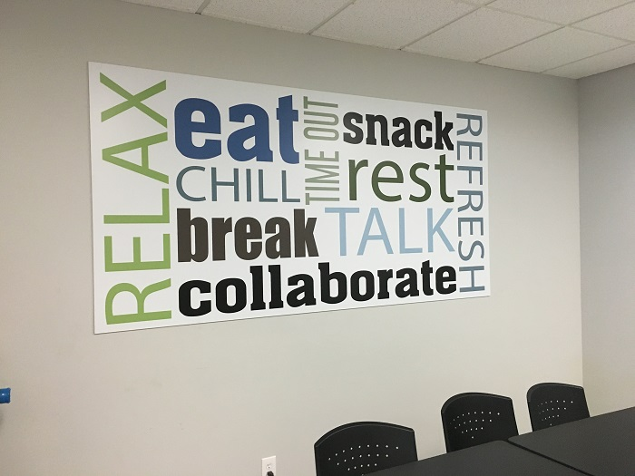 Breakroom Wall Graphics