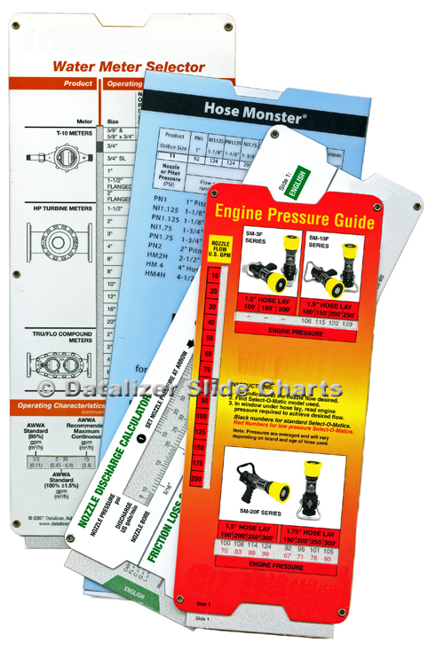 Industrial Slide Chart Marketing Collateral