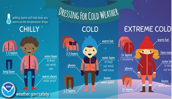Stay safe in the cold!