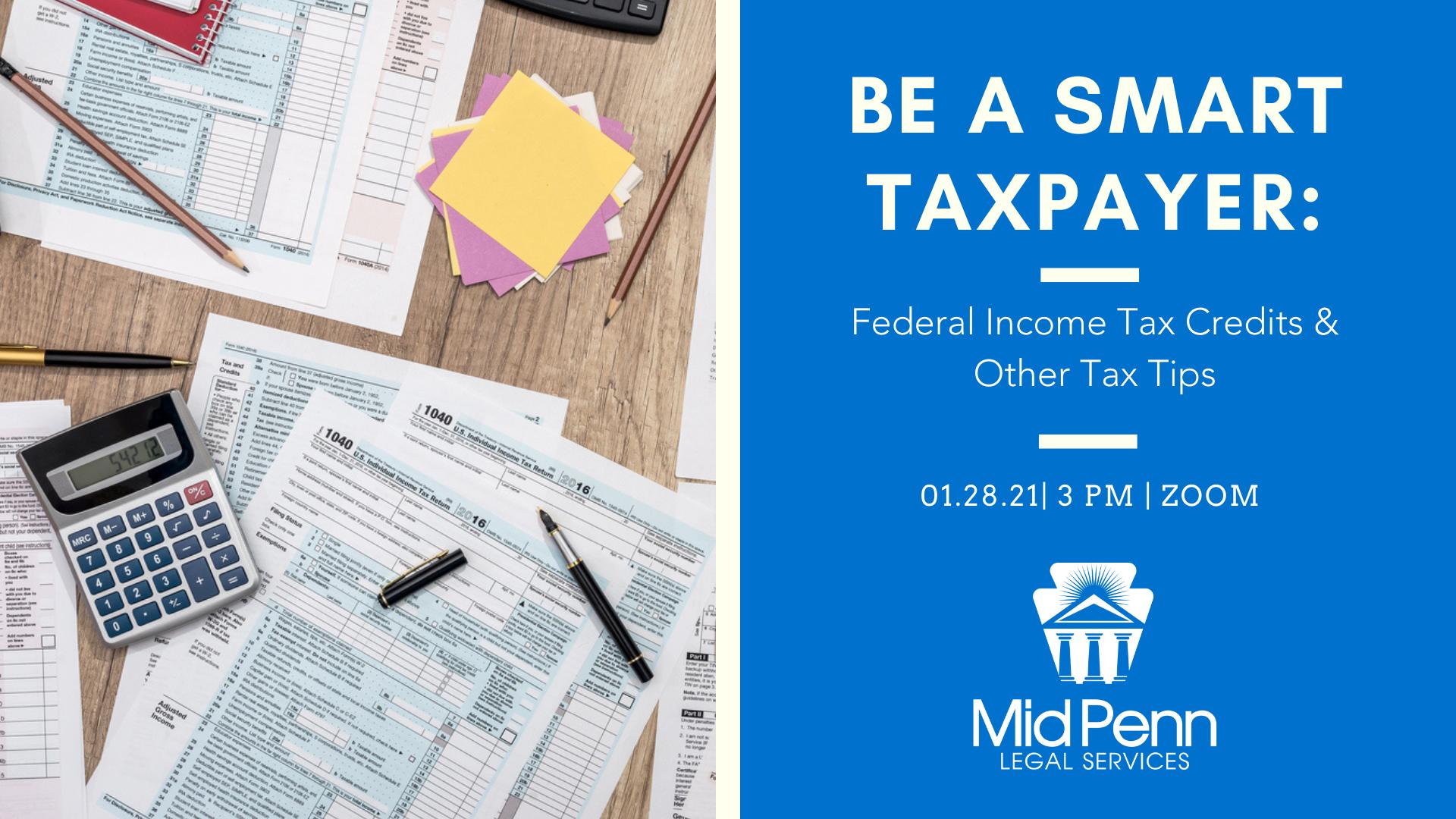 Be A Smart Taxpayer - Webinar