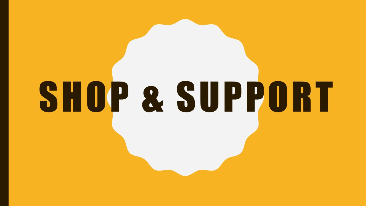 Shop and Support CEF