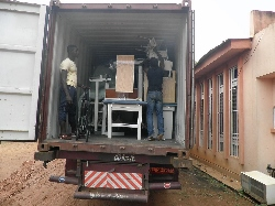 Cameroon receives shipment
