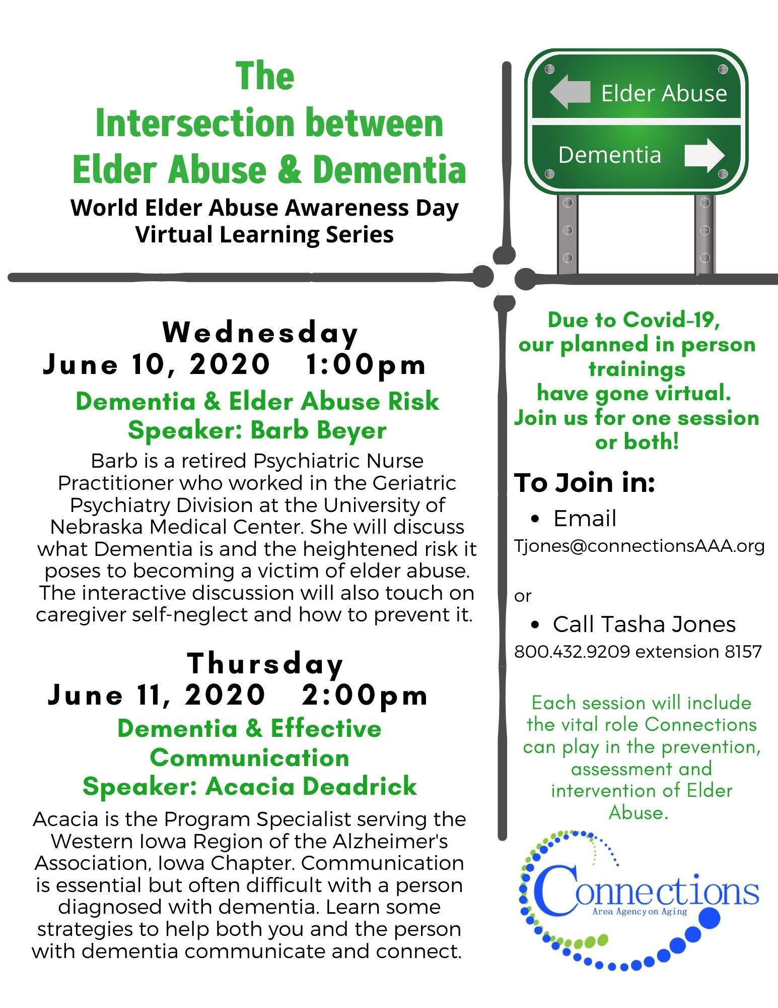 Elder Abuse Workshops Move to an On-line Format
