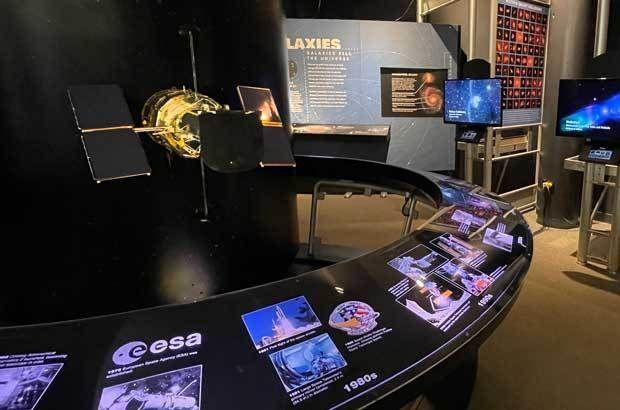 Hubble Space Telescope Exhibit