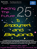 Facing the Future 25th Annual Conference To Employment and Beyond!