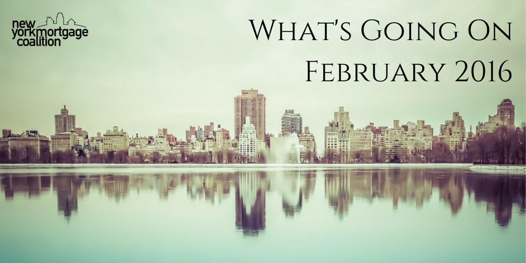 What's Going On: February 2016