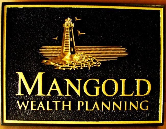ME5250 -  Wealth Management Company Wall Plaque, 2.5-D