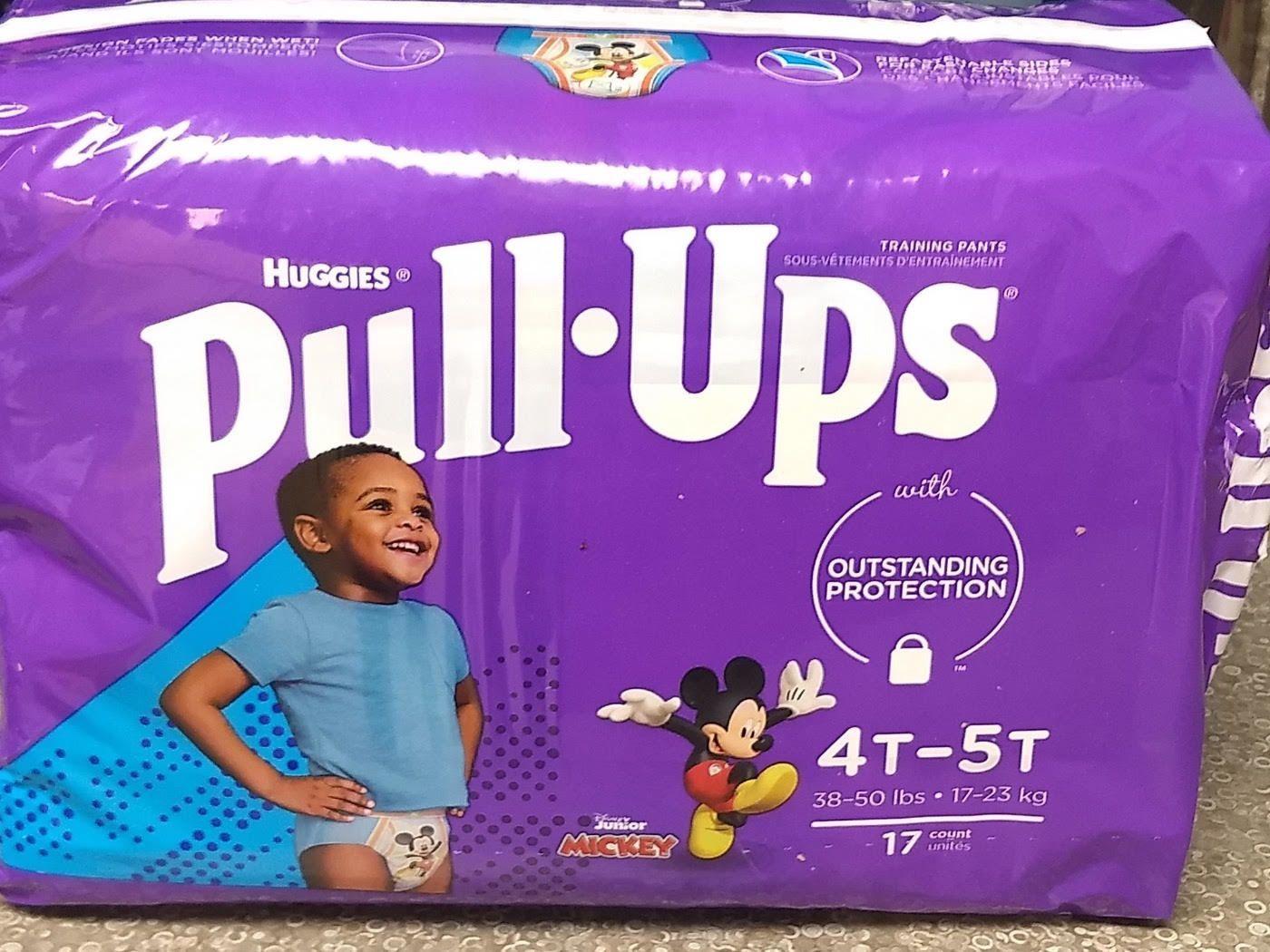 Pull-Ups Boys 4T-5T