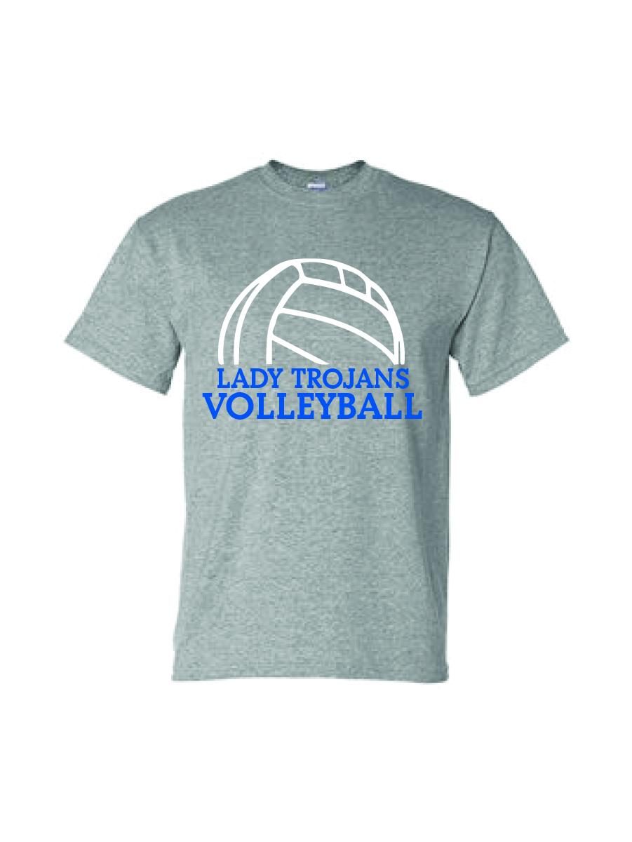Auburn Volleyball Short Sleeve (Sport gray)