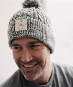 Men's Cable Knit Hat