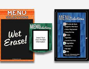 Menu Boards