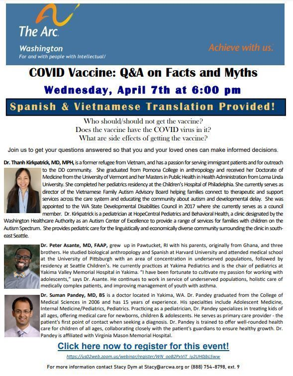 COVID Vaccine: Q&A on Facts and Myths