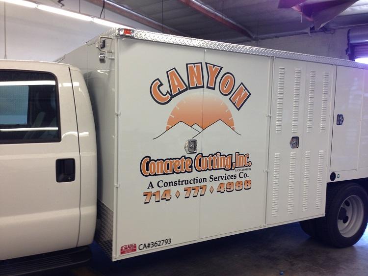 Service Truck Graphics
