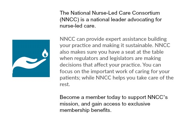 Join the Fight for Nurse Led Care! Click to view the website.  This is a great resource for all NP's and those in Private Practice.