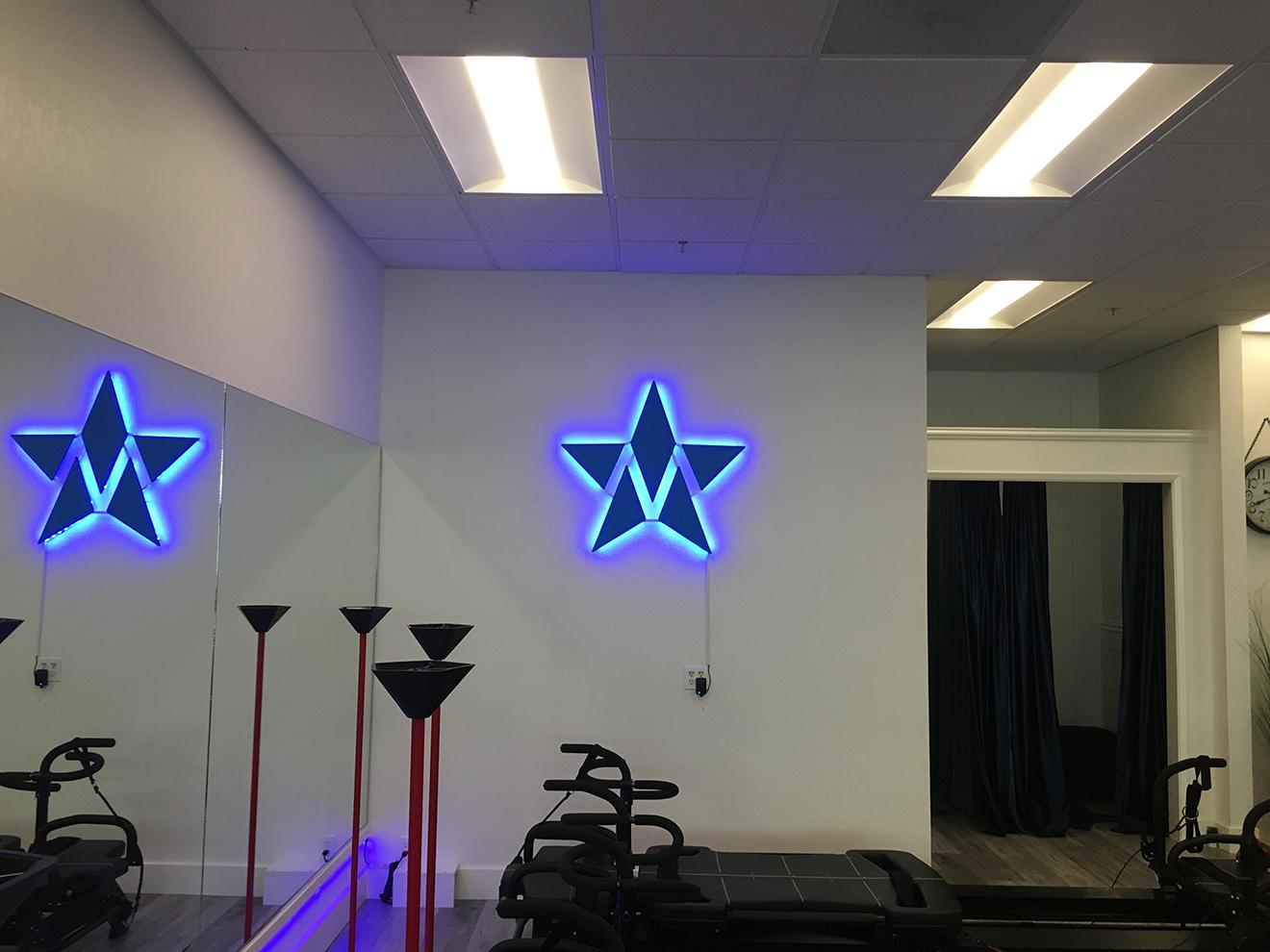 Illuminated Lobby Sign
