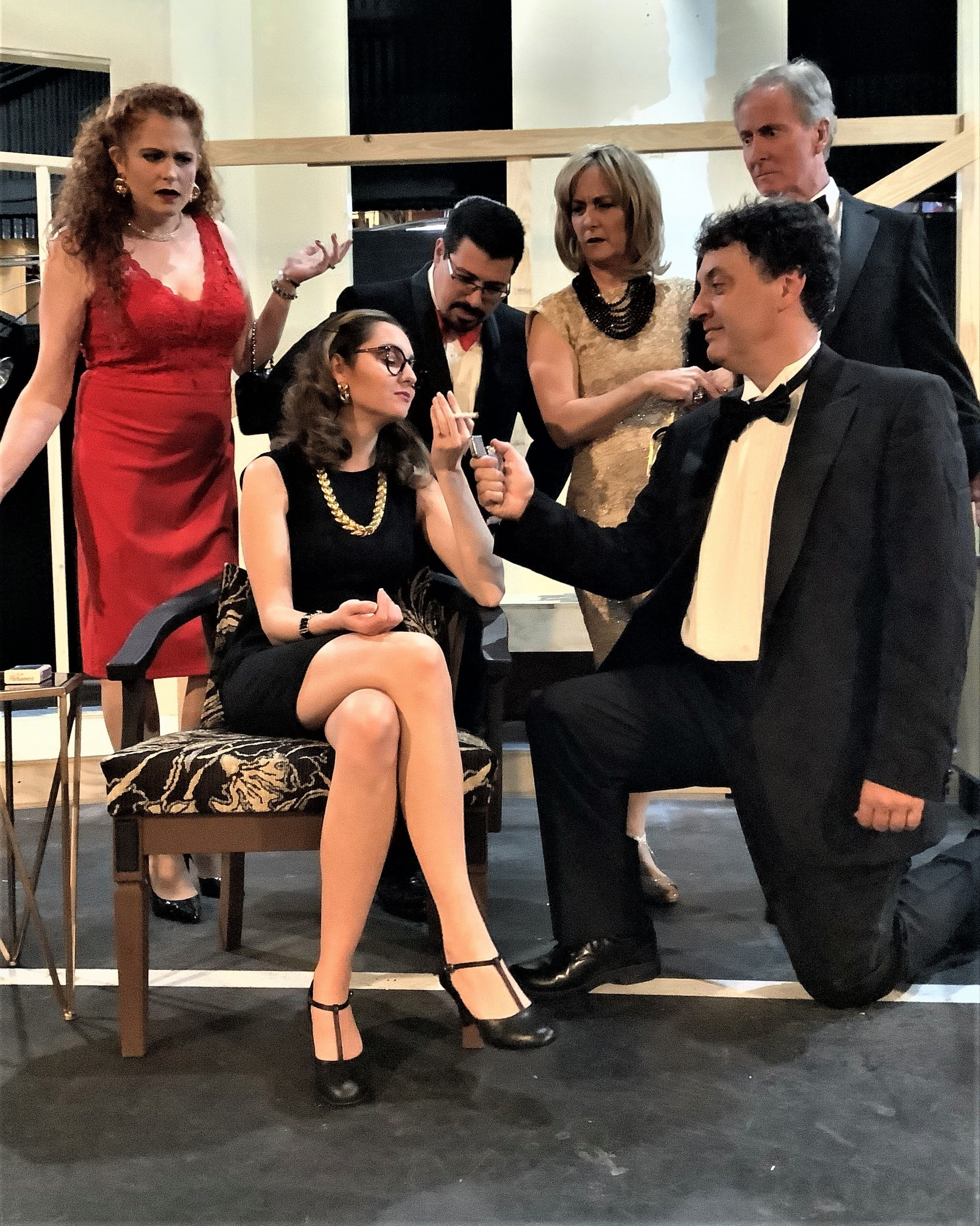 "THE BARN THEATRE PRESENTS NEIL SIMON'S AWARD WINNING COMEDY PLAY ""RUMORS"""