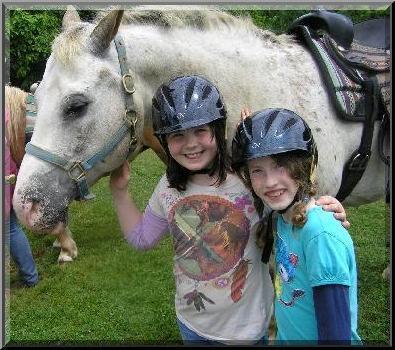 Horse w Girls Smile