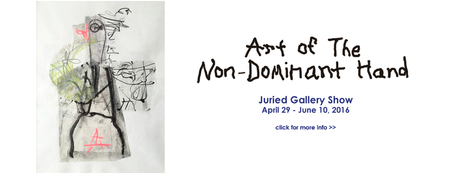 EEA Gallery Show - Non-Dominant Hand