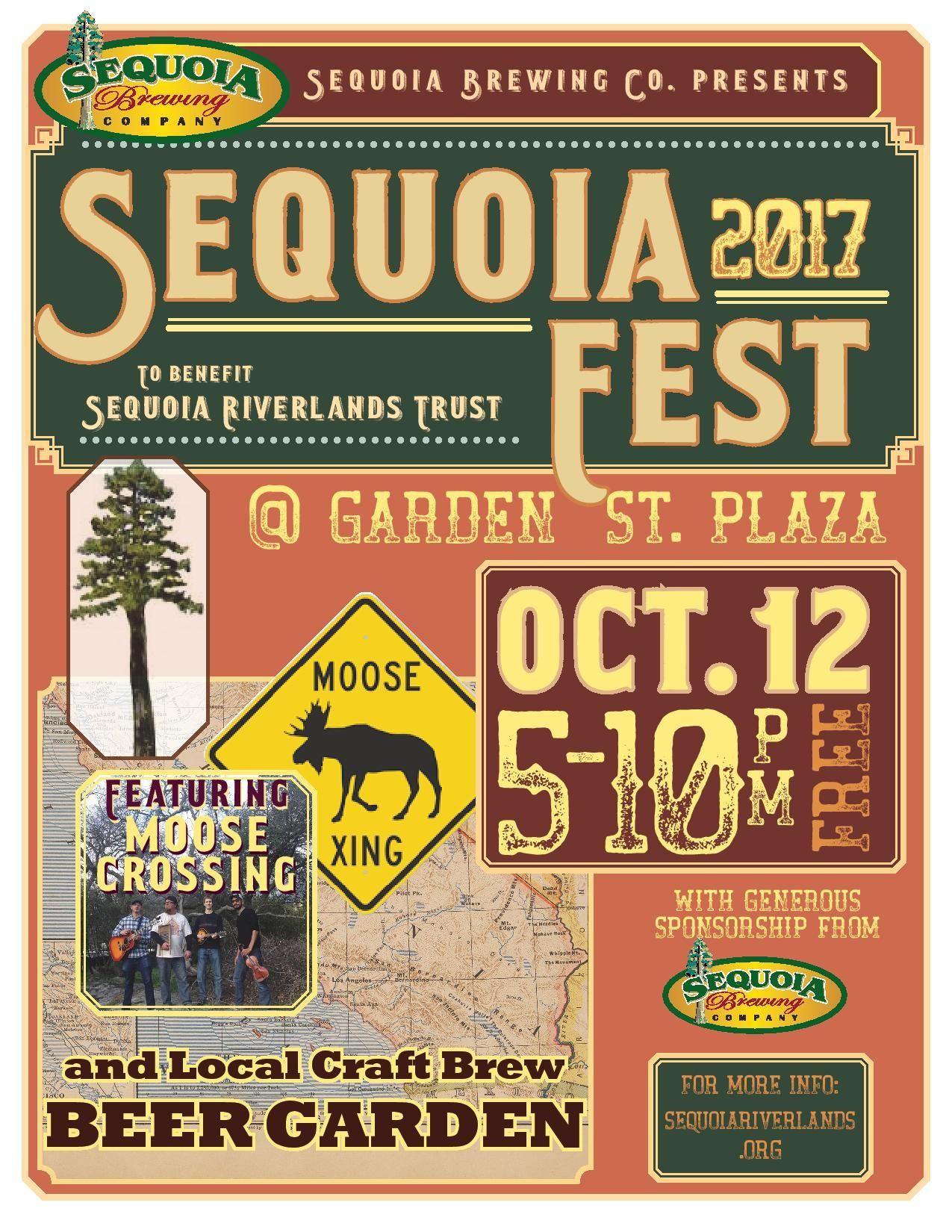 SequoiaFest 2 happening October 12