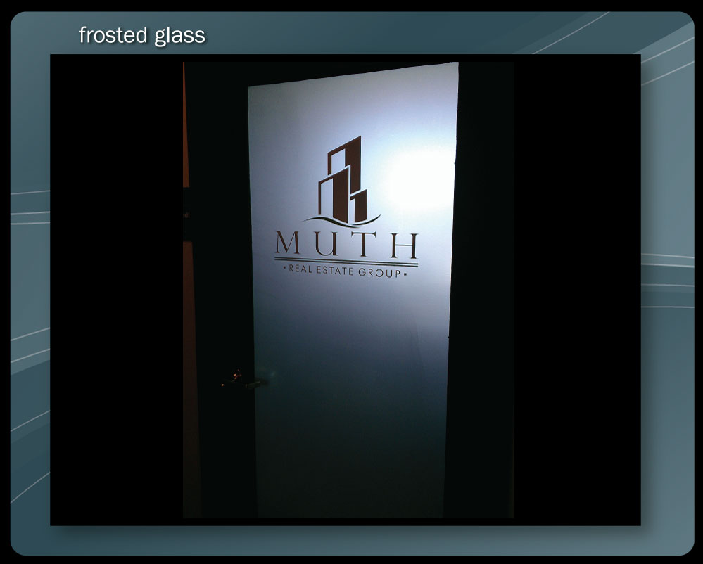 FROSTED (ETCHED) GLASS