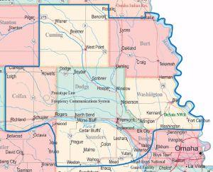 FACF Grant Area Map