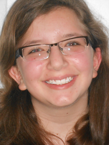 2015 Recipient of the Ranny Reeve Memorial Scholarship: Katerina Reich, Piano Student (posted January 11, 2016)
