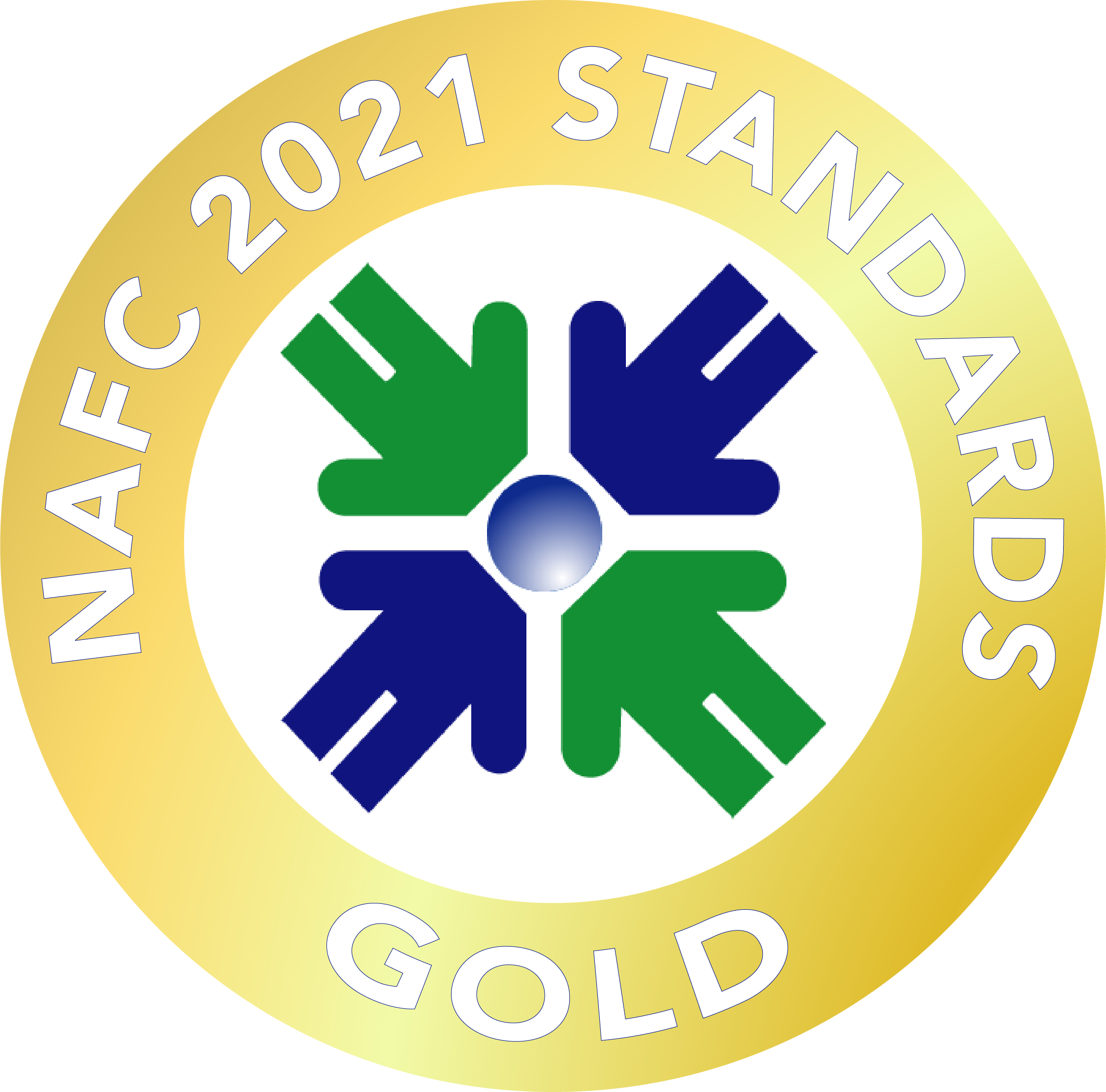 Interfaith Clinic Earned a 2021 Gold Rating from the NAFC