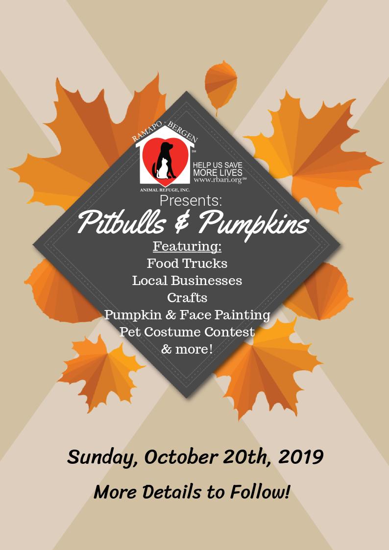 Pitbulls & Pumpkins Fair