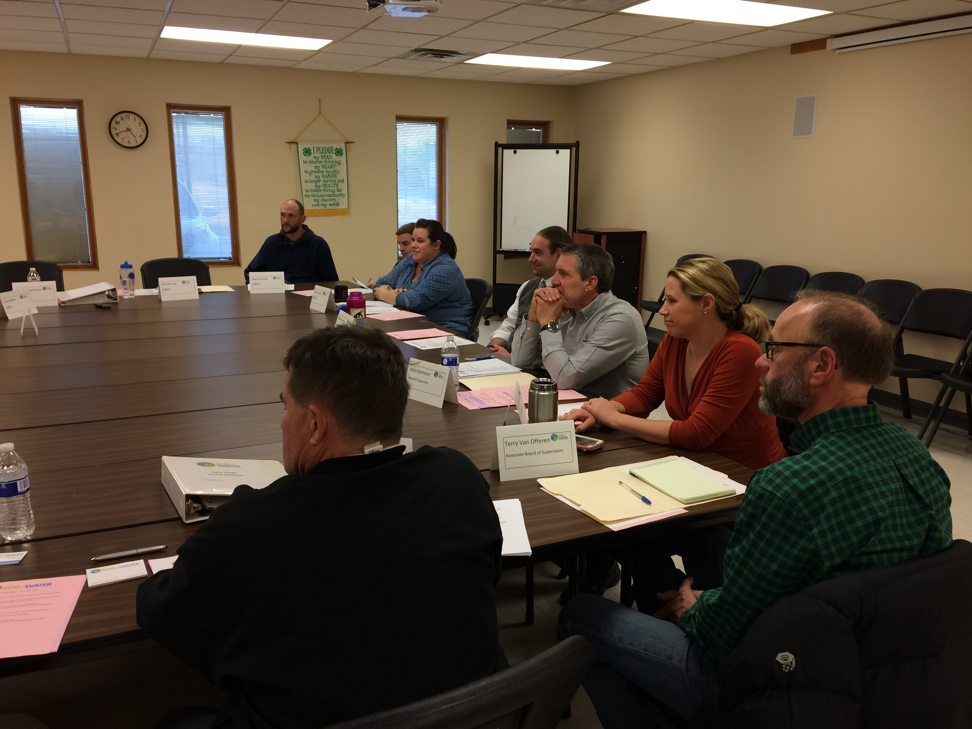 Soil & Water Board Meeting