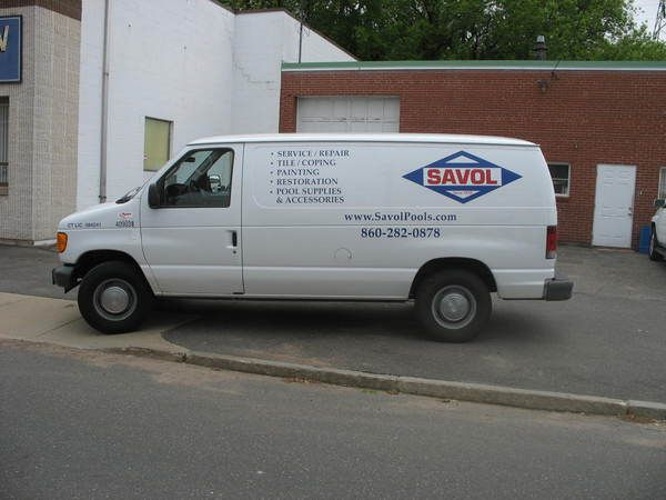Fleet Graphics, Ford Econoline Van, Lettering & Logo Graphics