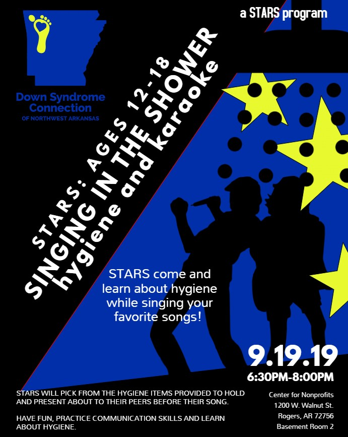 STARS Singing in the Shower (Special Teen Achieving Real Success Ages 12-18)
