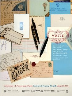 Academy of American Poets launches Dear Poet student letter writing project