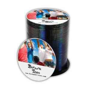 Duplicated CD Custom Disc Package