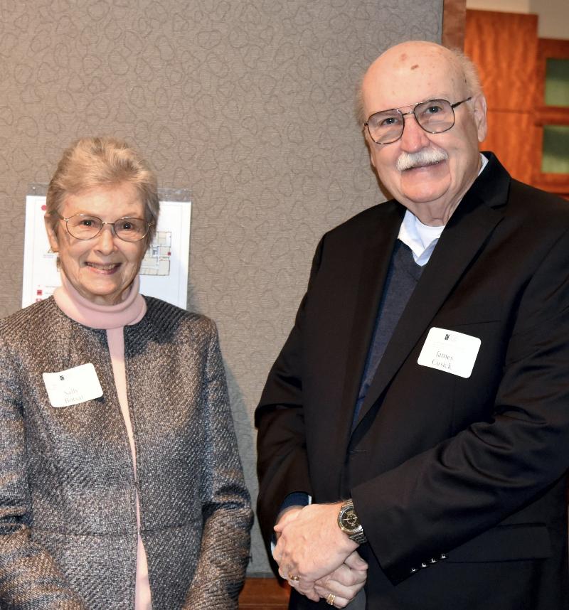 Ms. Sally Botsai and Mr. James Cusick